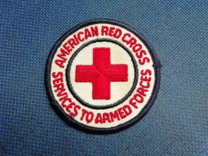 Insigne original de l'AMERICAN RED CROSS brodé