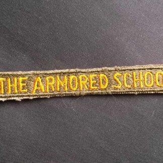 Tab original THE ARMORED SCHOOL
