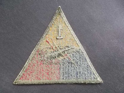 Insigne original 1° ARMORED DIVISION (green back)