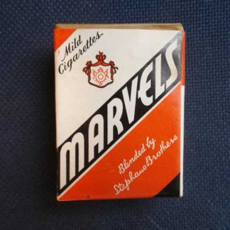 Paquet de 20 cigarettes MARVELS marché civil de 1945
