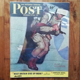 Magazine SATURDAY EVENING POST du 12 septembre 1942