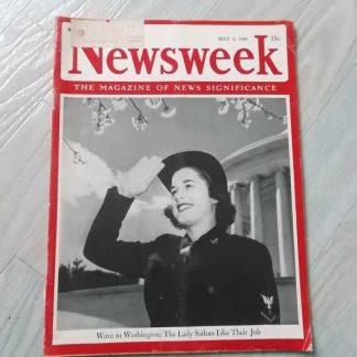 Magazine NEWSWEEK du 3 mai 1943