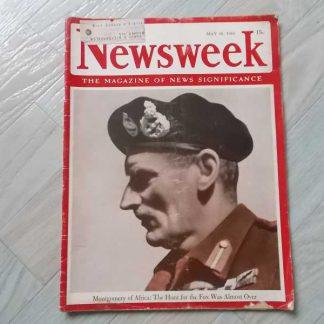 Magazine NEWSWEEK du 10 mai 1943