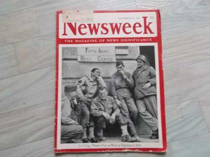 Magazine NEWSWEEK du 29 novembre 1943