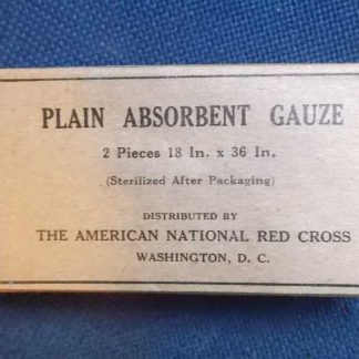 Plain absorbent gauze RED CROSS (18x36 inches)