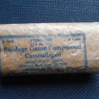 Bandage MARSALES camouflé daté 1943 (3inch/6yards)