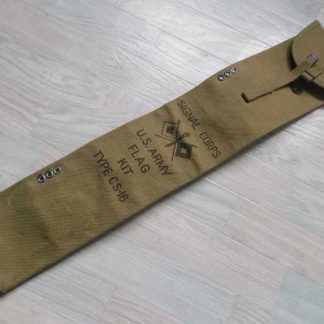 Housse de fanion du Signal Corps datée 1942