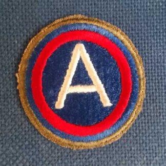 Insigne original 3° ARMY (bordure OD)