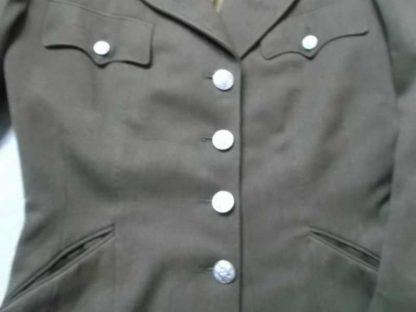 Veste troupe WAC datée 1943 identifiée