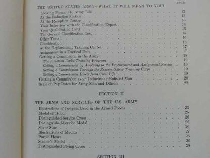 Manuel de tests pour l'engagement daté 1943