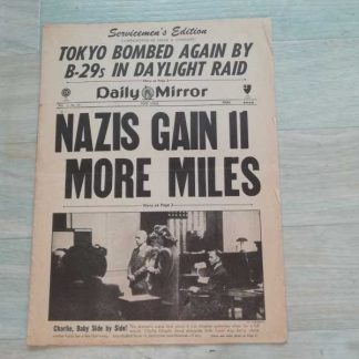 DAILY MIRROR de début 1945