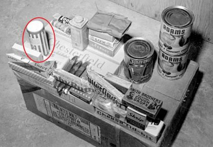 """Talc MENNEN en emballage carton """"Victotry Container"""""""