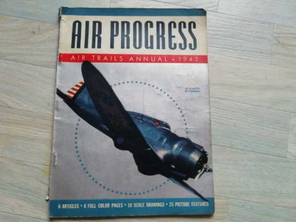 Magazine AIR PROGRESS de 1942