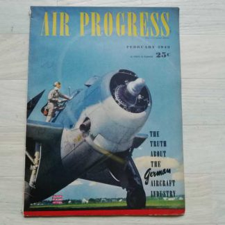 Magazine AIR PROGRESS de février 1943