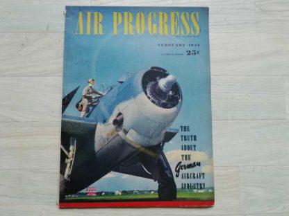 Magazine AIR PROGRESS de février 1943