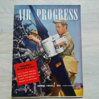 Magazine AIR PROGRESS d'avril 1943