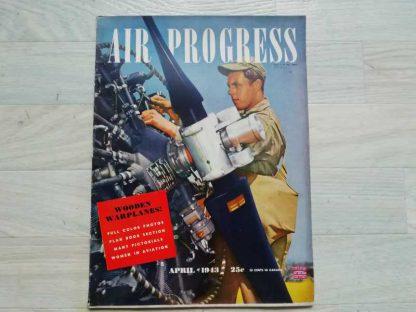Magazine AIR PROGRESS d'avril 1943