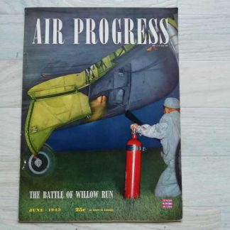 Magazine AIR PROGRESS de juin 1943