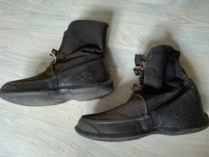 Paire d'overshoes US à 2 boucles