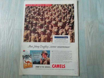 PUB originale CAMEL datée 1944