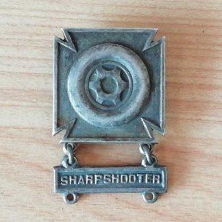 """Brevet original DRIVER avec barrette """"sharpshooter"""""""