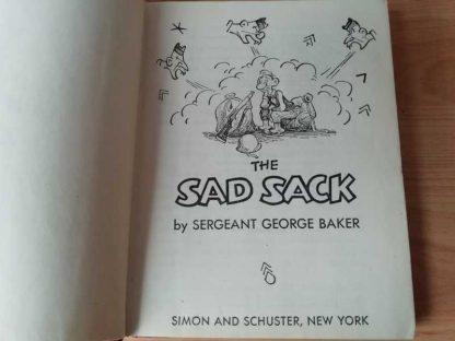 """Livre original """"SAD SACK"""" du sergent BAKER de 1944"""
