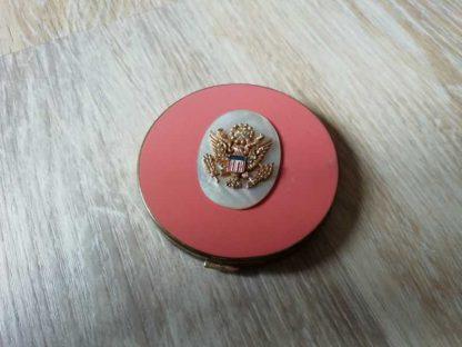 Poudrier avec insigne US ARMY