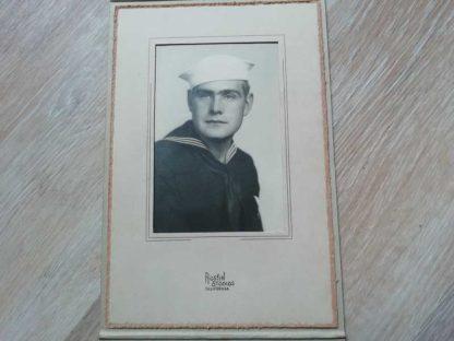 Photo encadrée d'un marin