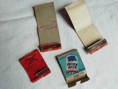 Pochettes d'allumettes artillerie US