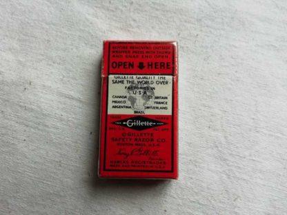 Paquet de lames de rasoir GILLETTE (rouge)