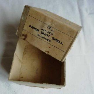 Boite vide pour cartouches inertes du trench gun M1897
