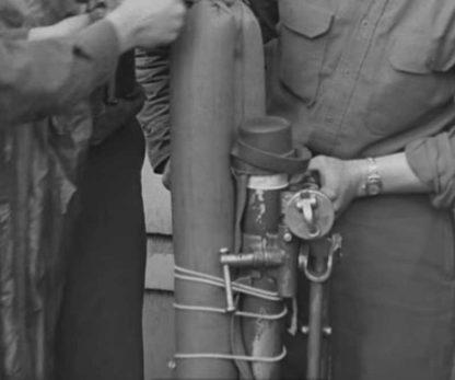 Sangle originale du mortier de 60m/m