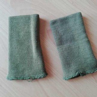 Paire de tricotines originales pour blouson de tankiste