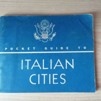 Pocket guide to Italian cities daté 1944