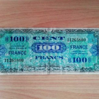 Billet US de 100 francs daté 1944 (834)