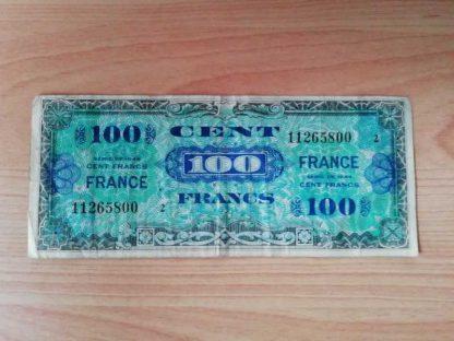 Billet US de 100 francs daté 1944 (834)
