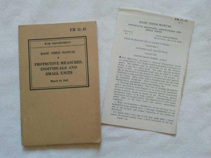 FM 21-45 daté 1942 (protectives measures)