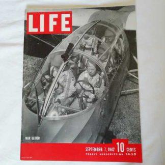 Magazine LIFE du 7 septembre 1942 (glider)