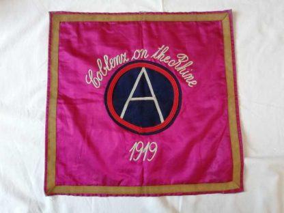 Housse de coussin 3rd ARMY 1919
