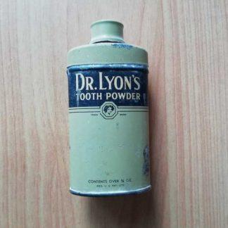 Poudre dentaire Dr LYONS (8 cm)