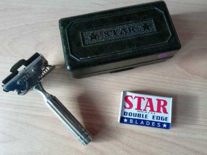 Rasoir STAR métallique en boite