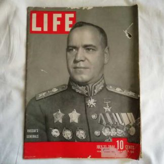 Magazine LIFE du 31 juillet 1944 (photos AIR FORCE)