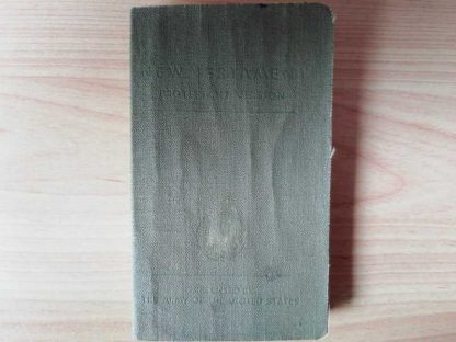 Bible US protestante datée 1941 identifiée
