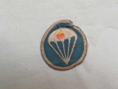 Insigne original de calot infanterie para (tissu)