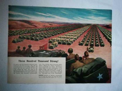 PUB originale DODGE de 1944