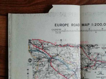 Carte US de Marseille de l'opération DRAGOON
