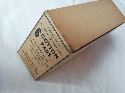 Carton de 5 boites ACME COTTON PRODUCTS CO.