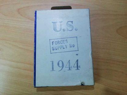 Boite de lames de rasoir WILKUT datée 1944