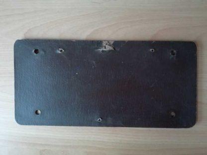 Plaque minéralogique en carton datée 1944