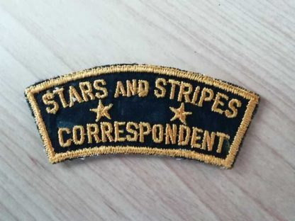 Insigne original STARS AND STRIPES CORRESPONDENT
